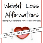 Weight Loss Affirmations Free Preview