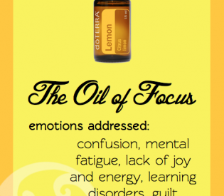 Emotional Healing & Essential Oils: Lemon