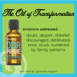 Emotional Healing & Essential Oils: DDR Prime