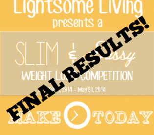 Lightsome Living Slim & Sassy Challenge Final Results!